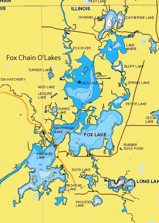 Fox Chain of Lakes, IL | Northland Fishing Tackle