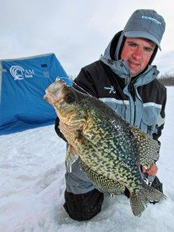 John Peterson Ice Fishing - Walleye