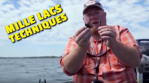 Finesse Tactics for Smallmouth Bass - Mille Lacs